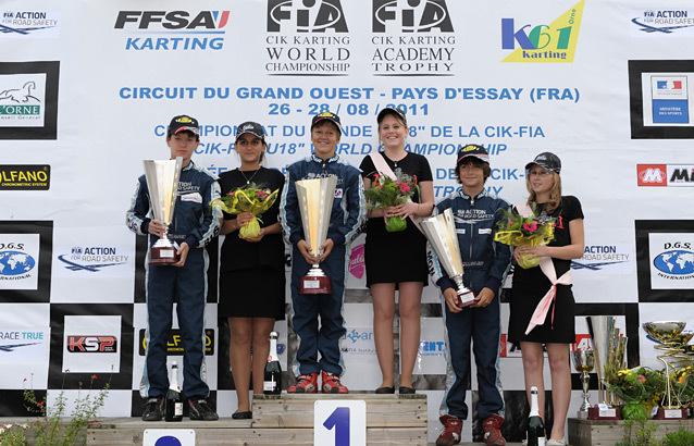 Actualités karting - Fondation Julie Tonelli